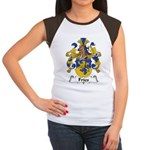 Fries Family Crest  Women's Cap Sleeve T-Shirt