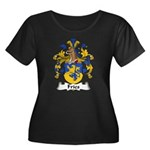 Fries Family Crest  Women's Plus Size Scoop Neck D