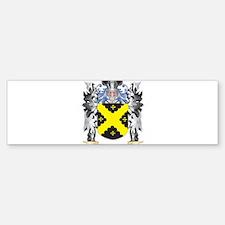 Caldecott Coat of Arms - Family Cre Bumper Bumper Bumper Sticker