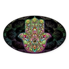 Hamsa Hand Amulet Psychedelic Decal