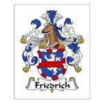 Friedrich Family Crest Small Poster