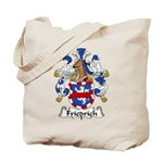 Friedrich Family Crest Tote Bag