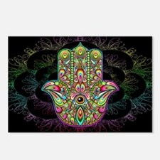 Hamsa Hand Amulet Psyched Postcards (Package of 8)