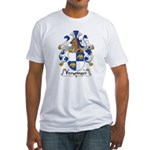 Freysinger Family Crest  Fitted T-Shirt