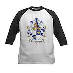 Freysinger Family Crest  Kids Baseball Jersey
