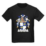 Freysinger Family Crest  Kids Dark T-Shirt