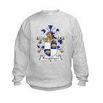 Freysinger Family Crest  Kids Sweatshirt