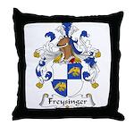 Freysinger Family Crest  Throw Pillow