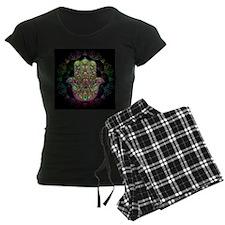 Hamsa Hand Amulet Psychedeli Pajamas
