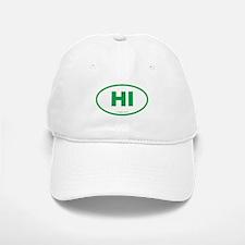 Hawaii Euro Oval Baseball Baseball Cap