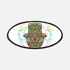 Hamsa Hand Amulet Psychedelic Patch