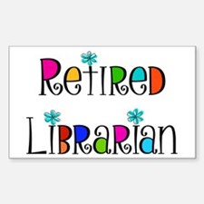 Retired Librarian Decal