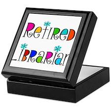Retired Librarian Keepsake Box