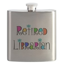Retired Librarian Flask