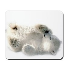 Baby Polar Bear Mousepad