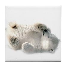 Baby Polar Bear Tile Coaster