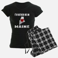 Id Rather Be In Maine Pajamas