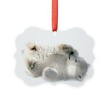 Baby Polar Bear Ornament