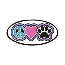 Peace Love Paws Patch