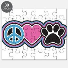Peace Love Paws Puzzle