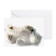 Baby Polar Bear Greeting Cards