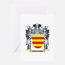 Cameron Coat of Arms - Family Crest Greeting Cards