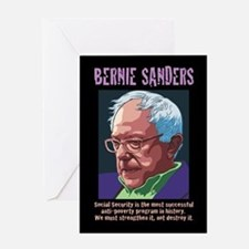 Bernie Sanders -SSI Greeting Card