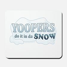 Do It In Da Snow Mousepad