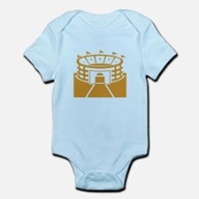 Brown Stadium Infant Bodysuit