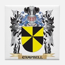 Campbell Coat of Arms - Family Crest Tile Coaster