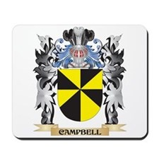 Campbell Coat of Arms - Family Crest Mousepad