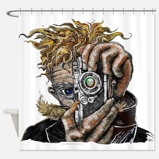 Photographer ART Shower Curtain