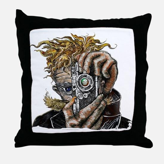 Photographer ART Throw Pillow
