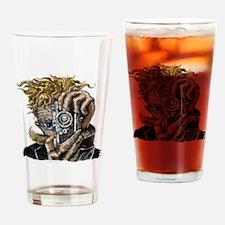 Photographer ART Drinking Glass