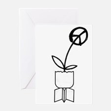 Drop Flowers. Greeting Cards