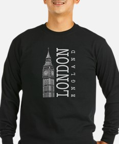 London Big Ben Long Sleeve T-Shirt