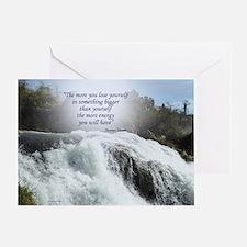 Funny Waterfalls Greeting Card