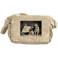 vintage puppies Messenger Bag