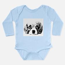 (kids) Sad Puppy Face Body Suit