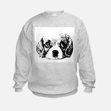 (kids) Sad Puppy Face Sweatshirt