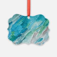 """Vibrant Flow"" Ornament"