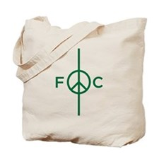 Cute Peace football club Tote Bag