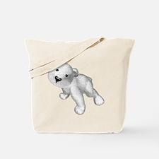 Baby Polar Bear Tote Bag