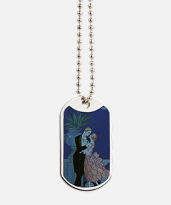 Vintage Art Deco Dog Tags