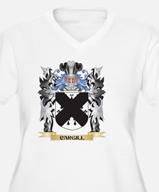 Cargill Coat of Arms - Family Cr Plus Size T-Shirt