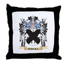 Cargill Coat of Arms - Family Crest Throw Pillow