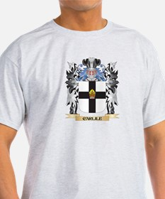 Carlile Coat of Arms - Family Crest T-Shirt