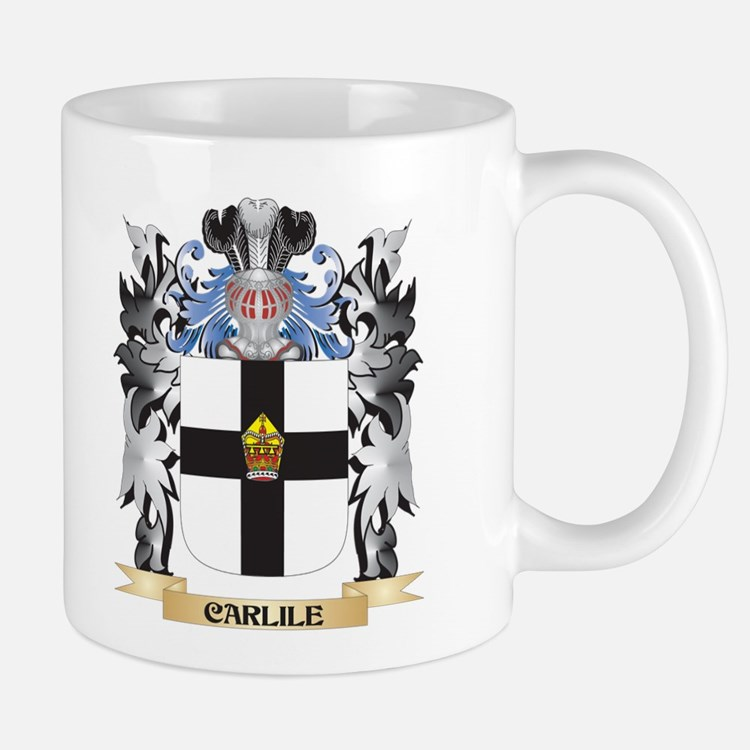 Carlile Coat of Arms - Family Crest Mugs