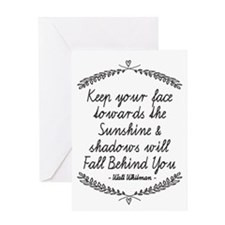 Shadows Greeting Cards