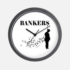 Hang the Bankers Wall Clock